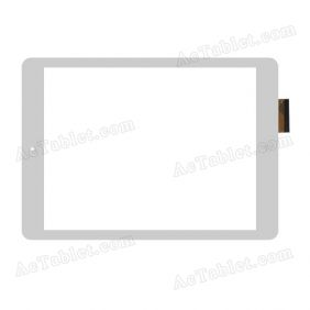 XYH5097A05-FPC-3.0 Digitizer Glass Touch Screen Replacement for 9.7 Inch MID Tablet PC