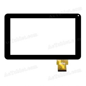 TOPTOUCH TPT-090-317 Digitizer Glass Touch Screen Replacement for 9 Inch MID Tablet PC