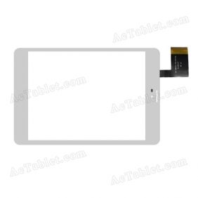DH-0807A1-PG-FPC100 Digitizer Glass Touch Screen Replacement for 7.9 Inch MID Tablet PC