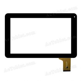 ZHC-K90-093B Digitizer Glass Touch Screen Replacement for 9 Inch MID Tablet PC