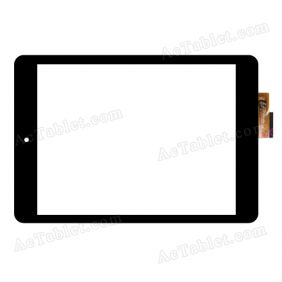 ACE-PG8.0C-419-FPC Digitizer Glass Touch Screen Replacement for 7.9 Inch MID Tablet PC