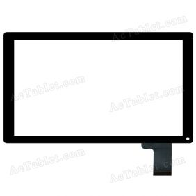 C146251A1-DRFPC240T-V1.0 V2.0 Digitizer Touch Screen Replacement for 10.1 Inch Tablet PC