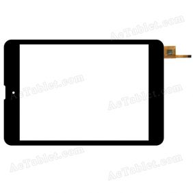 YCF0571-A P1 Digitizer Glass Touch Screen Replacement for 7.9 Inch MID Tablet PC