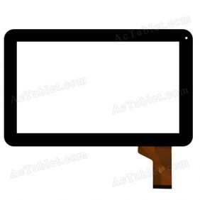 SG5992A-FPC_V1-1 Digitizer Glass Touch Screen Replacement for 10.1 Inch MID Tablet PC