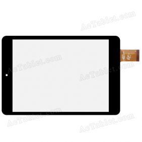 HOTATOUCH C196131A1-FPC720DR  Digitizer Glass Touch Screen Replacement for 7.9 Inch Tablet PC