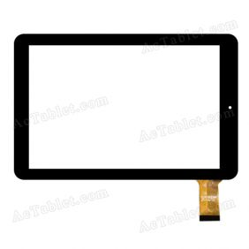 CLV3889-Z JT-08/14 F Digitizer Glass Touch Screen Replacement for 10.1 Inch MID Tablet PC