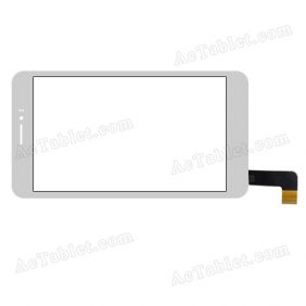 XCL-S70006B-FPC2.0 Digitizer Glass Touch Screen Replacement for 7 Inch MID Tablet PC