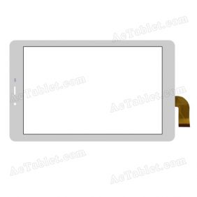 XCL-S80001A-FCP2.0 Digitizer Glass Touch Screen Replacement for 8 Inch MID Tablet PC