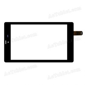 XCL-S80018A-FPC5.0 Digitizer Glass Touch Screen Replacement for 8 Inch MID Tablet PC