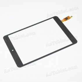F-WGJ80093-V1A Digitizer Glass Touch Screen Replacement for 8 Inch MID Tablet PC