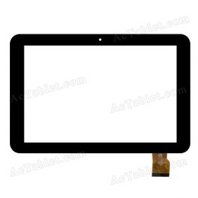 RS10F354_V1.3 Digitizer Glass Touch Screen Replacement for 10.1 Inch MID Tablet PC