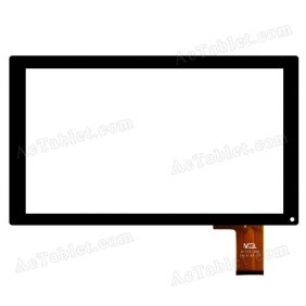 MGL MTCTP-388 Glass Digitizer Touch Screen Replacement for 10.1 Inch Tablet PC