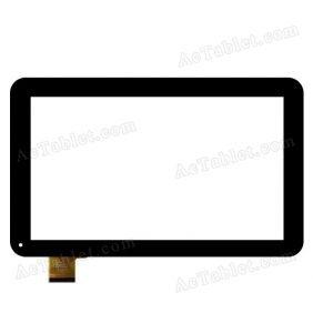 HK10DR2438-V01 Digitizer Glass Touch Screen Replacement for 10.1 Inch MID Tablet PC