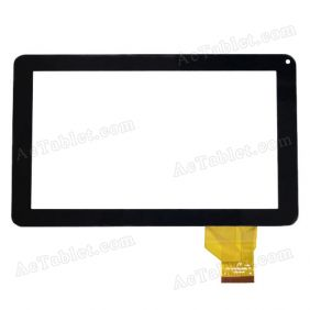 FPC-TP090032(998)-00 Digitizer Glass Touch Screen Replacement for 9 Inch MID Tablet PC