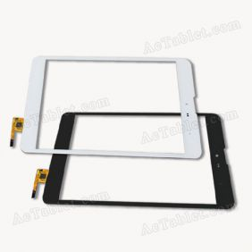 DPT-GROUP 300-L4541J-C00 Digitizer Glass Touch Screen Replacement for 7.9 Inch Tablet PC