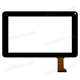 DLW-CTP-020A Digitizer Glass Touch Screen Replacement for 9 Inch MID Tablet PC
