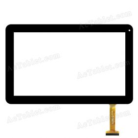 DH-1049A1-PG-FPC169 Digitizer Glass Touch Screen Replacement for 10.1 Inch MID Tablet PC