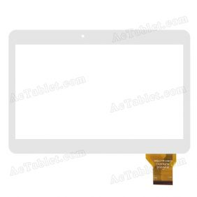 MGLCTP-10610 Digitizer Glass Touch Screen Replacement for 10.1 Inch MID Tablet PC
