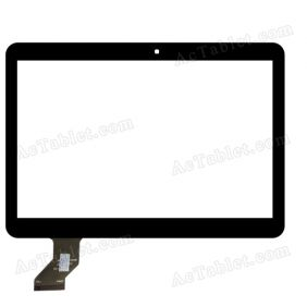 MTCTP-10558 Digitizer Glass Touch Screen Replacement for 10.1 Inch MID Tablet PC