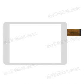 MTCTP-337-A Digitizer Glass Touch Screen Replacement for 7.9 Inch MID Tablet PC