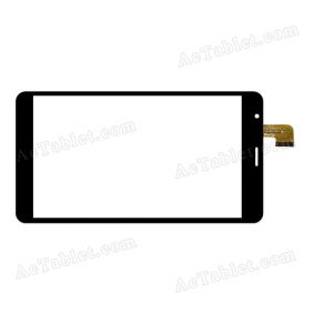 YTG-G70053-F1 V1.0 Digitizer Glass Touch Screen Replacement for 7 Inch MID Tablet PC