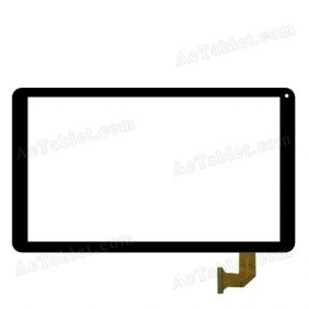 FX-10.1-0092A-F-02 Digitizer Glass Touch Screen Replacement for 10.1 Inch MID Tablet PC