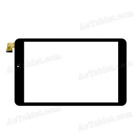 DH0812A1-FPC150-V2 Digitizer Glass Touch Screen Replacement for 8 Inch MID Tablet PC