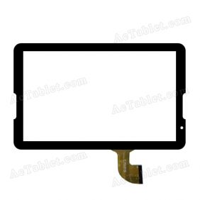 DH-1054A1-PG-FPC173 Digitizer Glass Touch Screen Replacement for 10.6 Inch MID Tablet PC