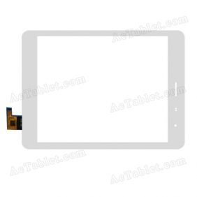 F-WGJ78038_V1 Digitizer Glass Touch Screen Replacement for 7.9 Inch MID Tablet PC
