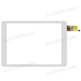 F-WGJ97114-V2 Digitizer Glass Touch Screen Replacement for 9.7 Inch MID Tablet PC