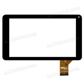 DPTech 10112-0D5288A Digitizer Glass Touch Screen Replacement for 9 Inch MID Tablet PC