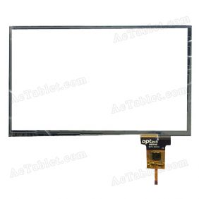 80701-1B3211A N3211B Digitizer Touch Screen Replacement for 8.3 Inch Car Audio DVD Player