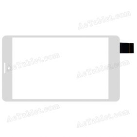 C104187A1 DRFPC244T-V1.0 Digitizer Glass Touch Screen Replacement for 7 Inch Tablet PC