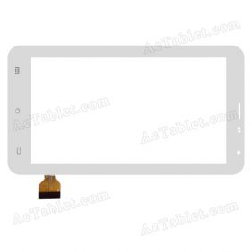 DH-0602A1-FPC045 Digitizer Glass Touch Screen Replacement for 7 Inch MID Tablet PC