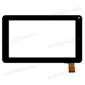 C186111A6-PG FPC714DR-02 Digitizer Glass Touch Screen Replacement for 7 Inch MID Tablet PC