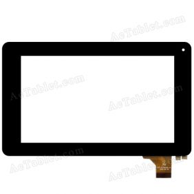 FPC-FC70S596-03 Digitizer Glass Touch Screen Replacement for 7 Inch MID Tablet PC