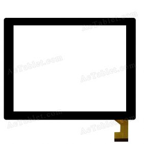 TOPSUN_D0014_A1 Digitizer Glass Touch Screen Replacement for 8 Inch MID Tablet PC