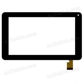 TOPSUN_C0110(COB)_A1 Digitizer Glass Touch Screen Replacement for 7 Inch MID Tablet PC