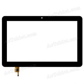 TOPSUN_G0002_A1 Digitizer Glass Touch Screen Replacement for 10.1 Inch MID Tablet PC