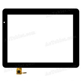 TOPSUN_E0051_A2 Digitizer Glass Touch Screen Replacement for 9.7 Inch MID Tablet PC