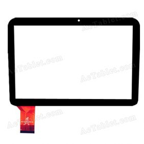 FPC-FC101S089(M2913) Digitizer Glass Touch Screen Replacement for 10.1 Inch MID Tablet PC