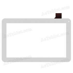 C159257H1-DEFPC265T-V1.0 Digitizer Glass Touch Screen Replacement for 10.1 Inch MID Tablet PC