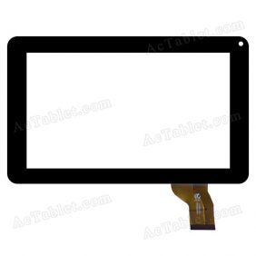 XF20140327 HK90DR2004 Digitizer Glass Touch Screen Panel for 9 Inch MID Tablet PC