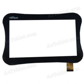 FPC-TP070185(771)-01 Digitizer Glass Touch Screen Replacement for 7 Inch MID Tablet PC