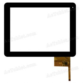 300-N3771A-C00 Digitizer Glass Touch Screen Replacement for 9.7 Inch MID Tablet PC