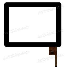 A0206-A-F0-0 Digitizer Glass Touch Screen Replacement for 9.7 Inch MID Tablet PC