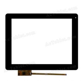 300-L4324A-A10 Digitizer Glass Touch Screen Replacement for 9.7 Inch MID Tablet PC