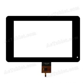 070ZX01-106006 Digitizer Glass Touch Screen Replacement for 7 Inch MID Tablet PC