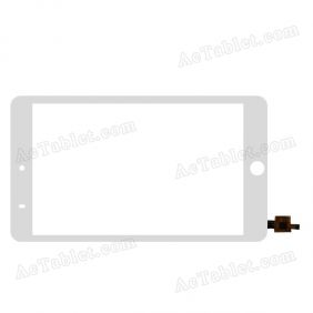 F-WGJ78012-V2 Digitizer Glass Touch Screen Replacement for 7.9 Inch MID Tablet PC