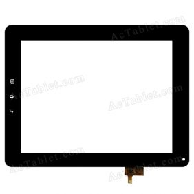 A11020970016-V06 Digitizer Glass Touch Screen Replacement for 9.7 Inch MID Tablet PC
